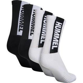 Set of 4 women's socks Hummel hmllegacy hmlCORE