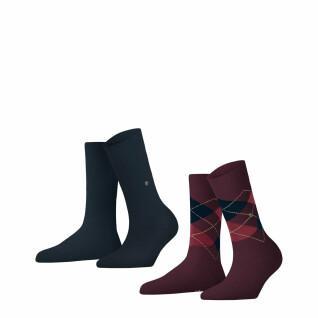 Set of 2 pairs of women's socks Burlington Everyday