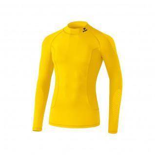 Erima compression shirt with collar