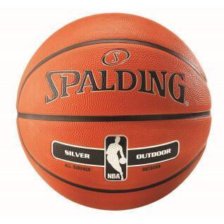 NBA Spalding Ball Silver Outdoor