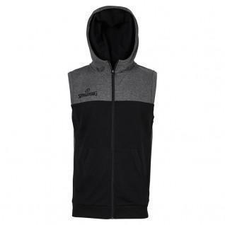 Spalding Street Hooded Sleeveless Jacket