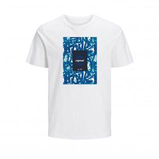 Jack & Jones Jorcolton print crew neck T-shirt