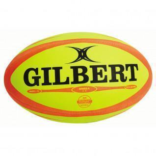Rugby ball Gilbert Omega Fluo