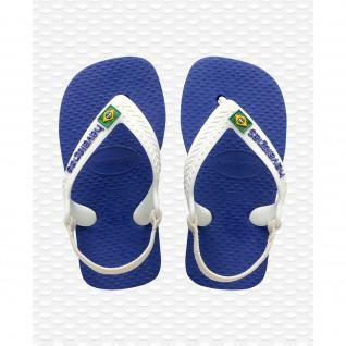 Havaianas baby Brasil Logo II flip-flops