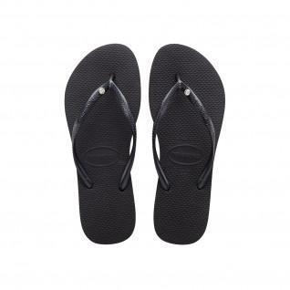 Women's Havaianas Slim Crystal SW II Flip Flops