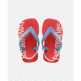 Havaianas baby flip-flops Logomania