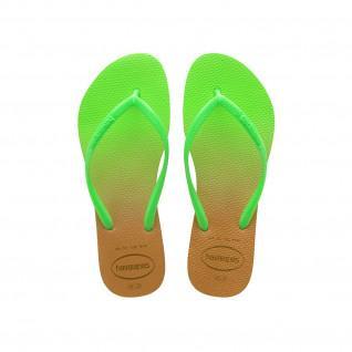 Havaianas Slim Gradient Women's Flip Flops