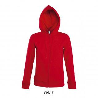 Hooded jacket woman Sol's Seven