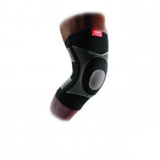 4-way elastic kneepad McDavid avec contrefort gel et baleines à ressort