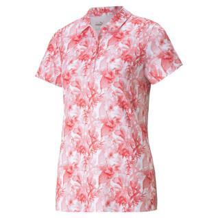 Women's polo shirt Puma Cloudspun Tropical