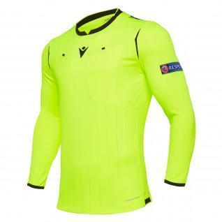 Long sleeve referee jersey Macron UEFA 2019