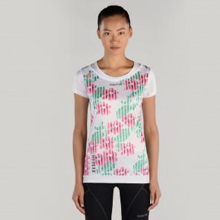 T-shirt woman Macron kona pro run tech flower