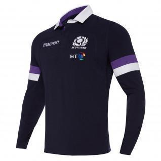 Long sleeve home jersey cotton Scotland Rugby 2017-2018