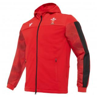 Sweatshirt cotton travel cotton Wales rugby 2020/21