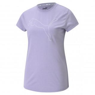 Women's T-shirt Puma RTG HeatHer Logo