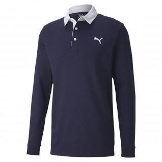 Puma Bridges Rugby Polo Shirt long sleeves