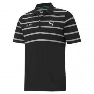MAPF1 Striped Puma Polo Shirt