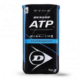 Set of 2 tubes of 4 tennis balls Dunlop atp championship