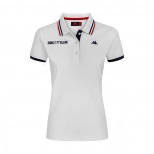 Women's Polo AS Monaco 2020/21 white
