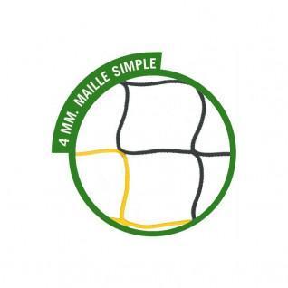 Soccer net 11 SportiFrance bicolor
