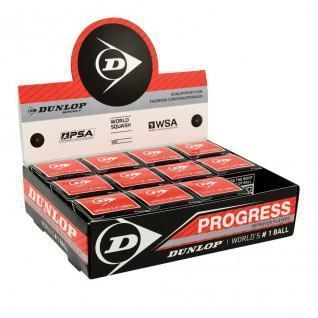 Squash ball Dunlop progress