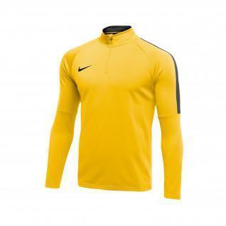 Sweatshirt training 1/4 zip Nike Dry Academy 18