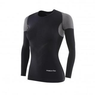 Macron Performance+ women's long-sleeved compression jersey