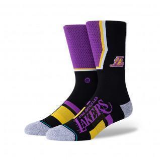 Los Angeles Lakers Shortcut 2 Socks