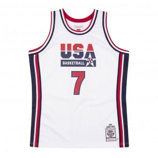 Genuine Team USA Larry Bird 1992 home jersey