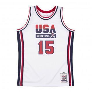 Genuine Team USA Magic Johnson 1992 home jersey