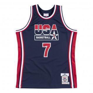 Authentic Team USA nba Larry Bird jersey