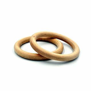 Wooden gymnastic rings Fit & Rack D28mm
