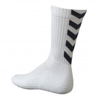 Socks Hummel hmlAUTHENTIC Indoor - Blanc/Noir