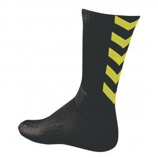 Socks Hummel Authentic Indoor black / neon green