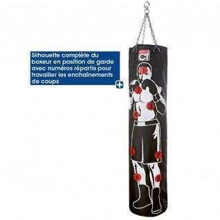 Tremblay silhouette punching bag