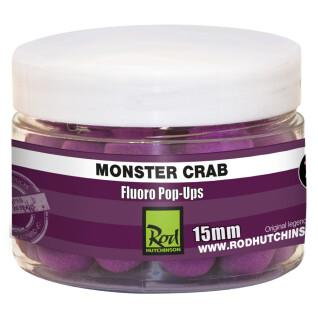 Floating boilies carp rod hutchinson fluoro pop ups monster crab