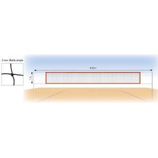 Beach volleyball net 2 mm polyamide Tremblay