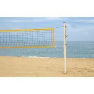 Beach Volleyball Poles PRO - Galvanized Steel 90mm Power Shot