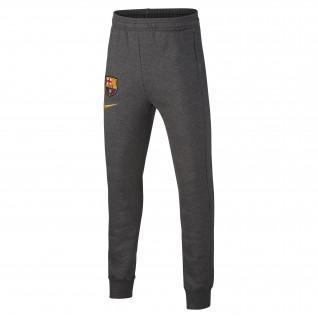 Barcelona junior Fleece pants 2020/21