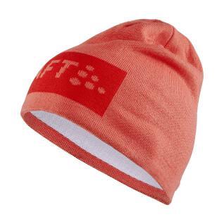 Cap Craft core square logo knit