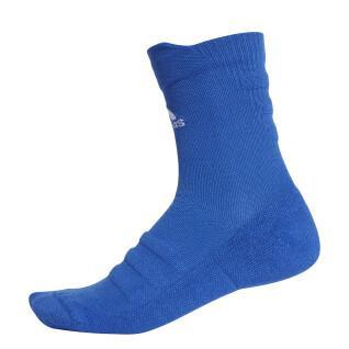 Socks adidas mi-mollet Alphaskin Lightweight Cushioning