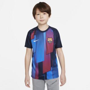 Child's T-shirt FC Barcelone Dynamic Fit Strike 2021/22