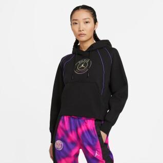 Sweatshirt woman PSG x Jordan Fleece 2020/21