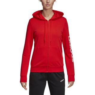 Hooded Jacket woman adidas Essentials Linear
