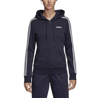 Hooded Jacket woman adidas Essentials 3-Stripes