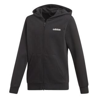 adidas Essentials Linear Junior Hooded Jacket