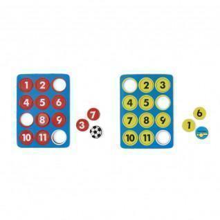 Set of 24 flat magnets Tremblay 13 mm