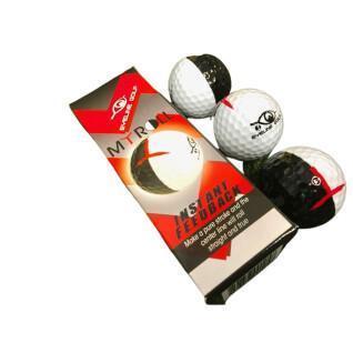 Pack of 3 balls EyeLine Golf