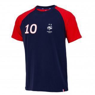 T-shirts FFF Player Mbappé No. 10 Children