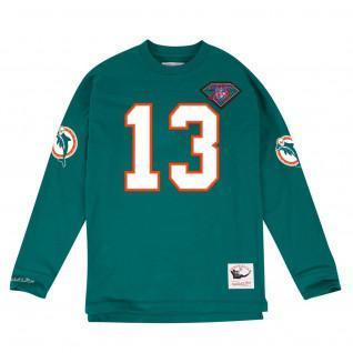 Mitchell & Ness Ls Miami Dolphins Sweatshirt
